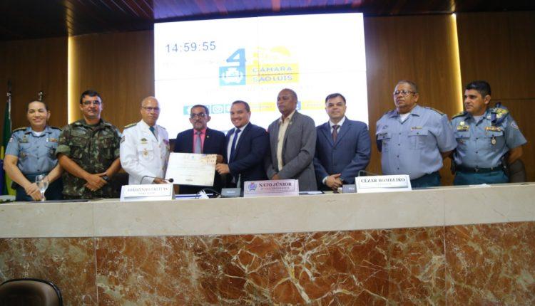 Coronel PM Alexandre Francisco recebe título de cidadão ludovicense na Câmara de São Luís