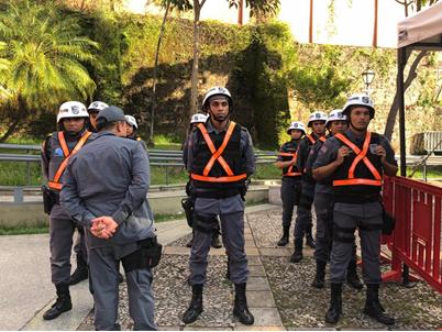 Com mais policiais, BPTur reforça e amplia policiamento no Centro Histórico