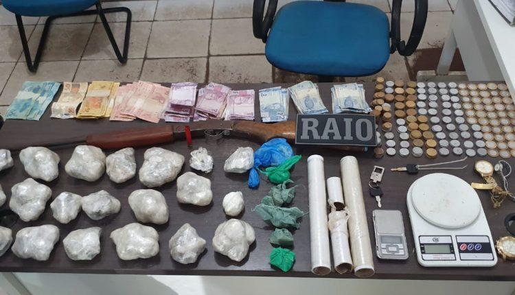 POLÍCIA MILITAR REALIZA PRISÃO DE INDIVIDUOS POR TRÁFICO DE DROGAS EM ROSÁRIO-MA