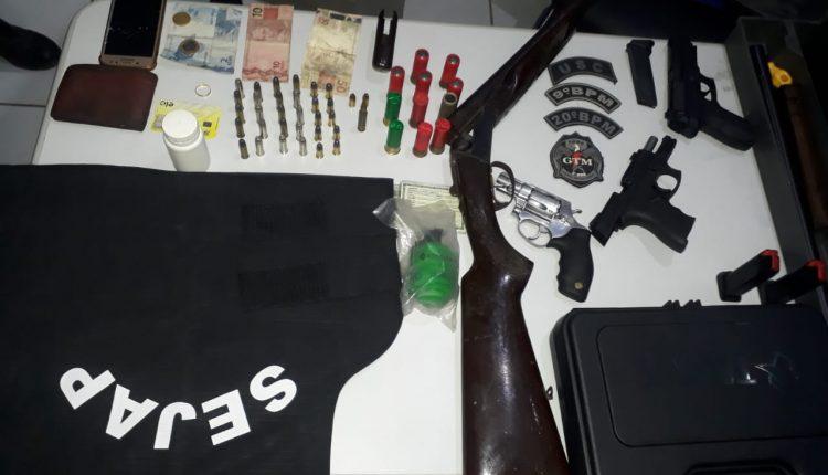 Suspeito é preso por tentativa de homicídio na capital
