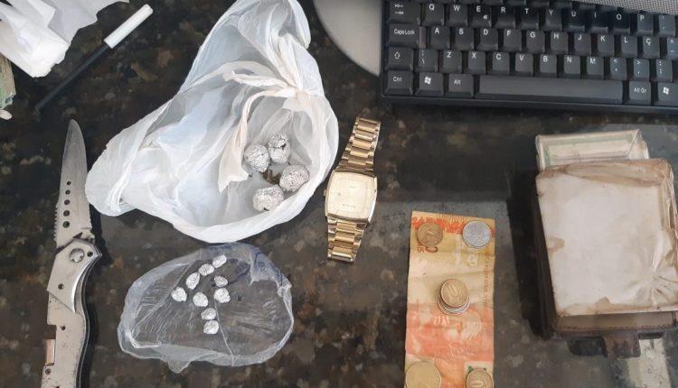 Homem é preso por tráfico de drogas no interior