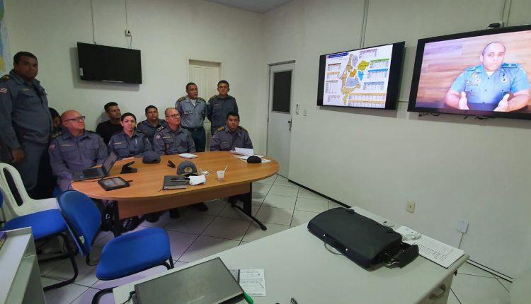 Comando do Policiamento do Interior executa a primeira Formatura Online da PMMA