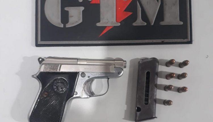 Polícia Militar apreende arma de fogo em Paço do Lumiar