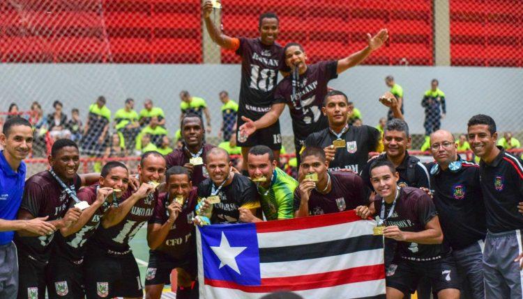 Equipe de futsal da APMGD é campeã brasileira dos Jogos Acadêmicos