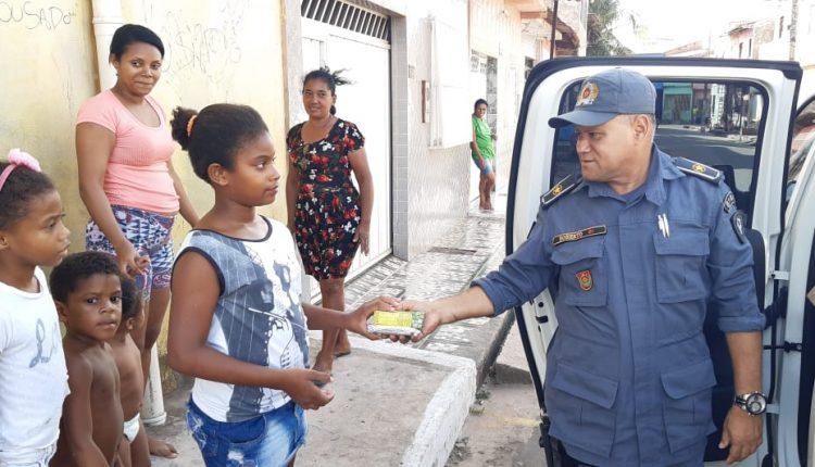 Polícia Militar promove ação solidária na capital