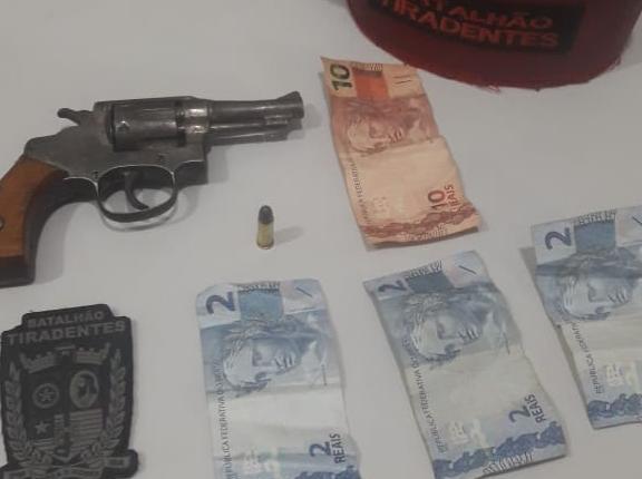 Polícia Militar apreende mais uma arma de fogo na Capital