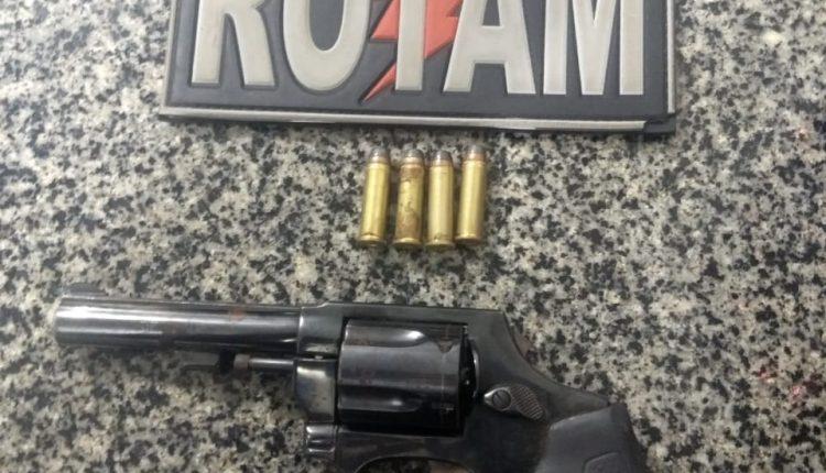 Polícia Militar apreende arma de fogo na Capital