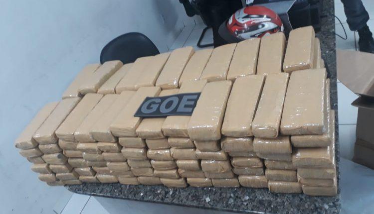 Polícia militar apreende aproximadamente 200kg de maconha em Timon-MA