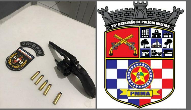 POLÍCIA MILITAR APREENDE DUAS ARMAS DE FOGO EM AÇÕES NOS BAIRROS DA FORQUILHA E PARQUE JAIR
