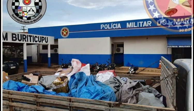Policiais prendem suspeitos de assalto em Buriticupu