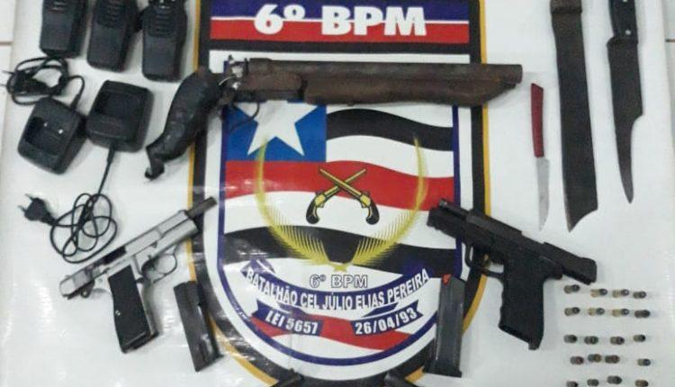 Polícia Militar desarticula ação de grupo criminoso em São Luís.