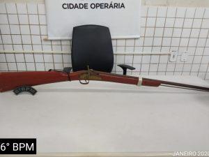 PMMA apreende armas de fogo na Cidade Olímpica