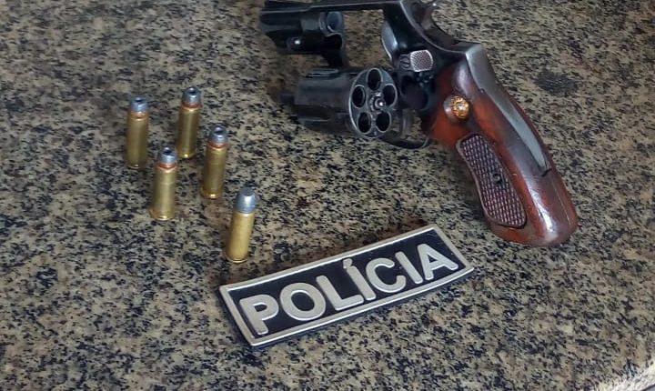 POLÍCIA MILITAR APREENDE ARMA DE FOGO NO INTERIOR DO ESTADO