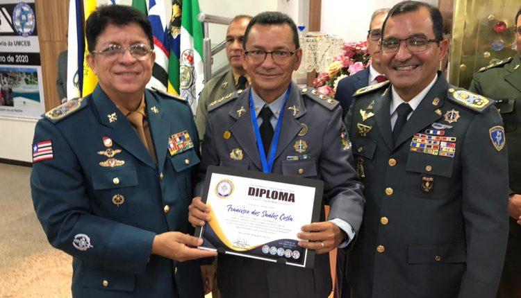 COMANDANTE GERAL DA PM PARTICIPA DE CULTO DE POSSE DA DIRETORIA E CONSELHO FISCAL DA UMCEB