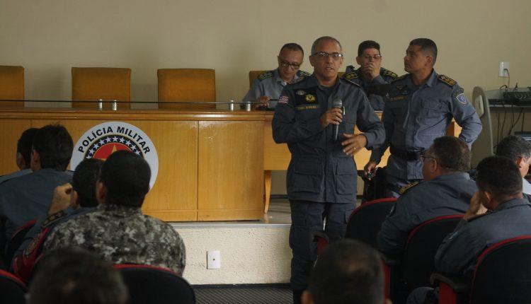 Comando da PMMA realiza reunião para discutir com comandantes esquema de segurança no carnaval 2020