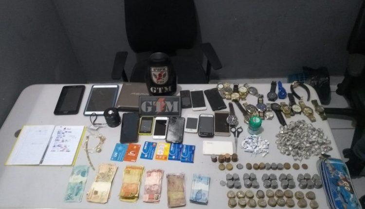 Polícia Militar apreende grande quantia de Droga na capital