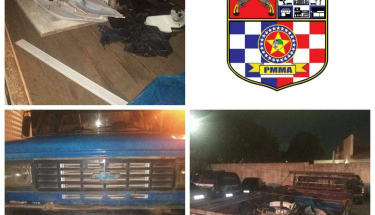 Policiais recuperam veículo roubado e prendem suspeitos por receptação no Alto do Turu