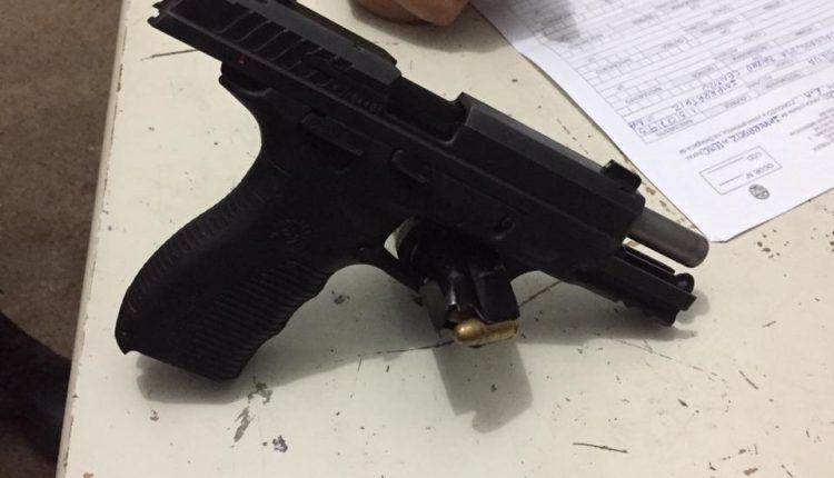 Polícia militar apreende arma de fogo em Imperatriz