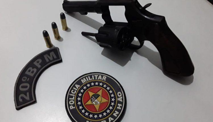 PMMA retira de circulação mais uma arma de fogo na capital maranhense