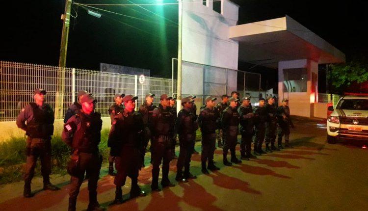 Esquema de segurança da PM é destaque no carnaval de Pinheiro
