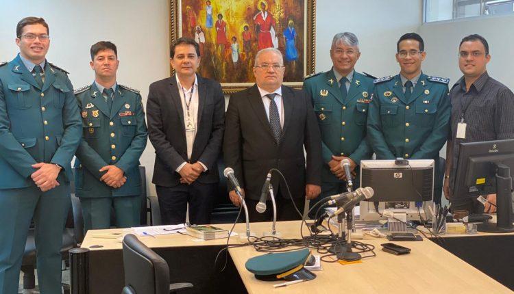 Posse dos novos juízes policiais militares da PMMA