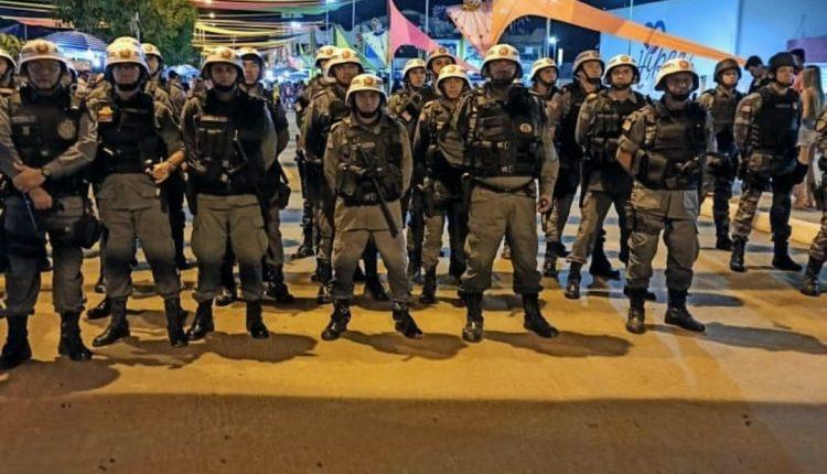 POLÍCIA MILITAR GARANTE SEGURANÇA NO CARNAVAL EM BALSAS