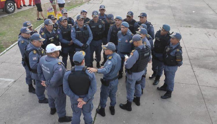 AÇÕES OSTENSIVAS E PREVENTIVAS SÃO REALIZADAS PELA PMMA NOS CIRCUITOS CARNAVALESCOS