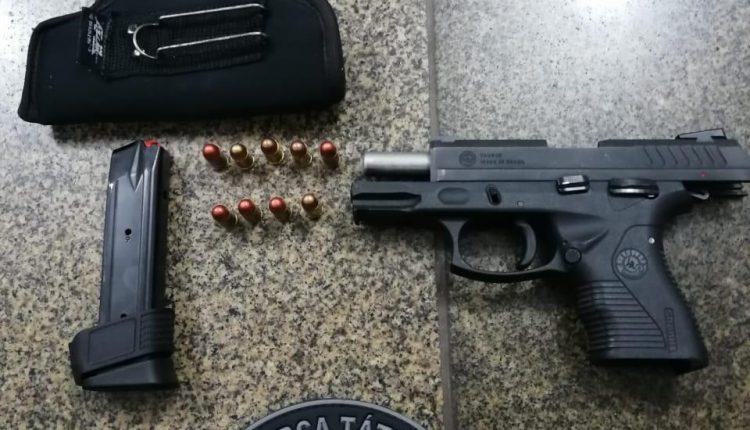 Após denúncias Polícia Militar apreende armas de fogo em Imperatriz