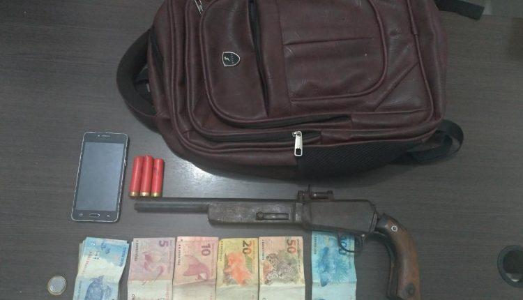 Em Icatu-Ma, homem é preso por porte ilegal de arma de fogo