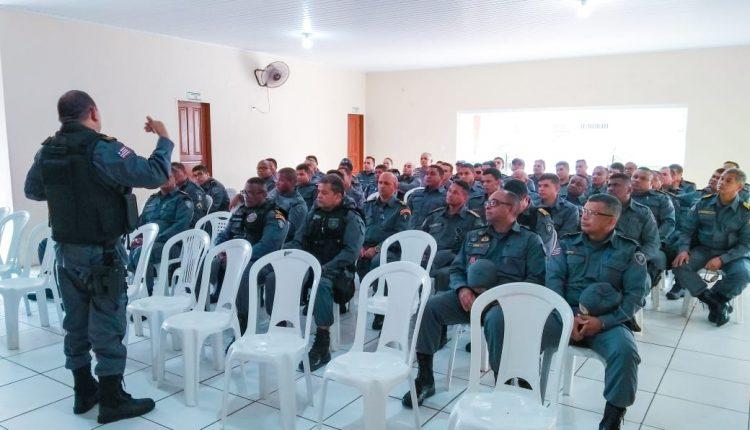 Batalhão da PM discute diretrizes operacionais de combate à criminalidade em bairros da capital
