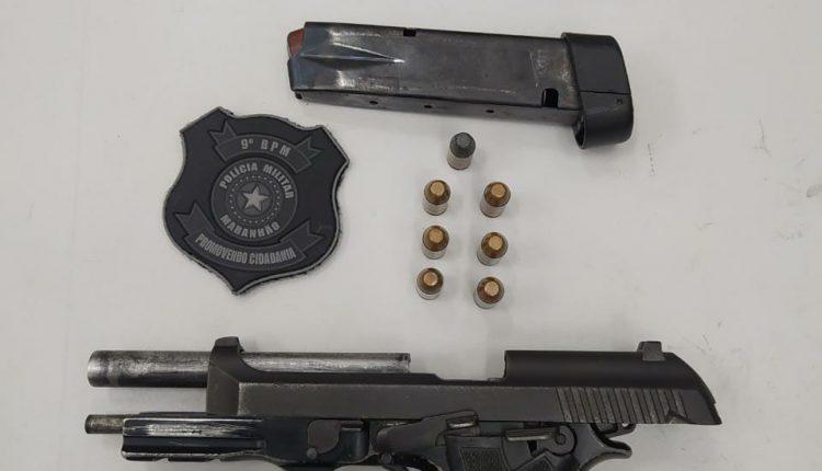 Em ação rápida Polícia Militar impede assassinado e recupera arma de fogo roubada