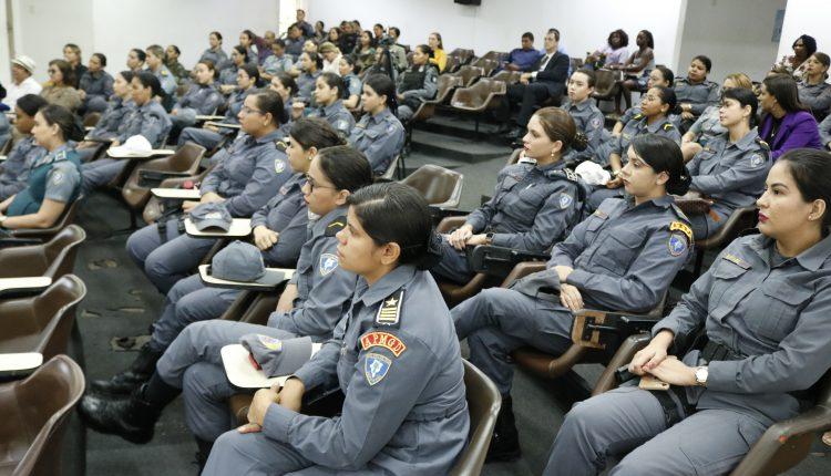 PMMA homenageia policiais femininas no Dia Internacional da Mulher