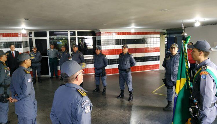 PMMA realiza passagens de comandos de unidades operacionais do interior