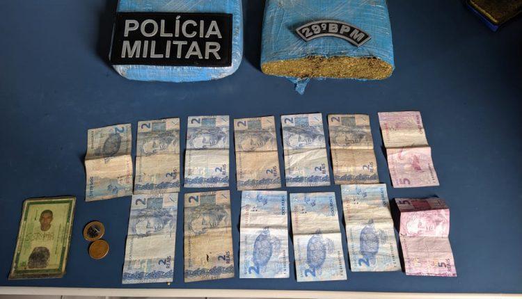 Policiais prendem suspeitos e apreendem drogas em Maranhãozinho-MA
