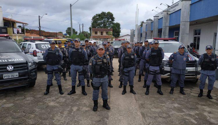 """Operação """"Maranhão mais Seguro"""" é desencadeada para combater o crime em bairros da capital"""