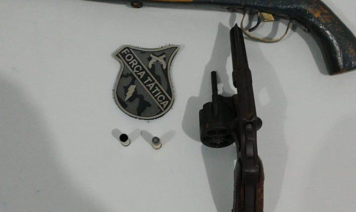 Polícia militar apreende mais uma arma de fogo em Codó MA
