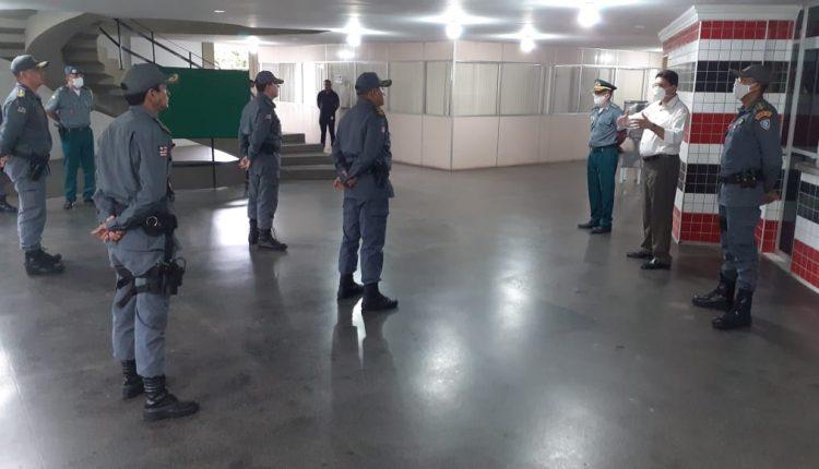 Polícia Militar realiza a passagem de comando do 22º BPM e do Batalhão Tiradentes