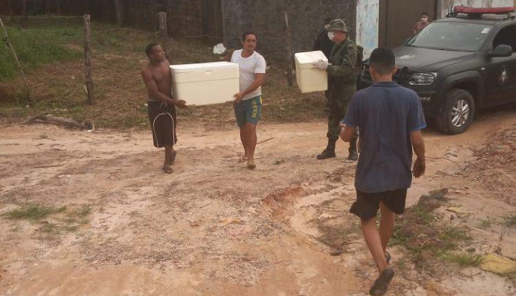 Batalhão de Operações Especiais da PM realiza ação social no Sítio Santa Eulália