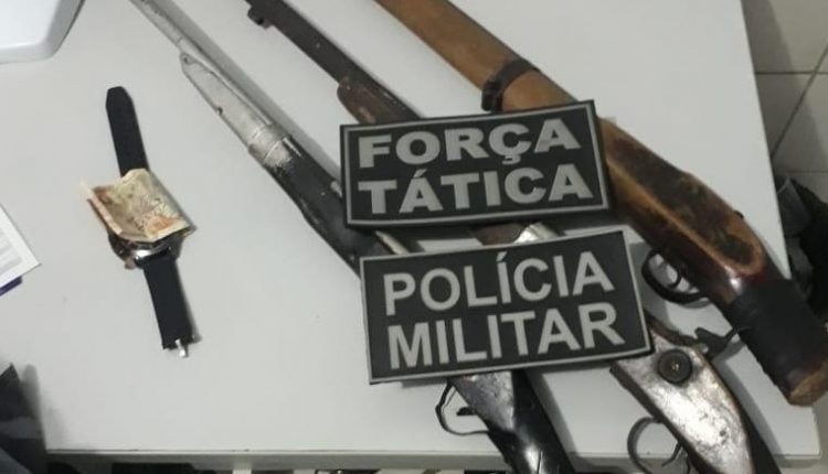 Polícia Militar prende suspeitos de tentativa de homicídio em Codó