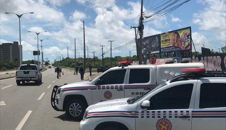 Atuação da PMMA durante o Lockdown na Região Metropolitana de São Luis