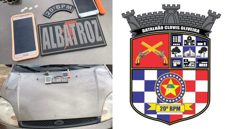 Policiais Militares do 20º BPM prendem suspeitos de assaltos no Turu