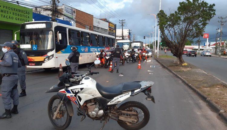 PMMA intensifica fiscalização durante o rodízio de veículos nos quatro municípios da Ilha de São Luís