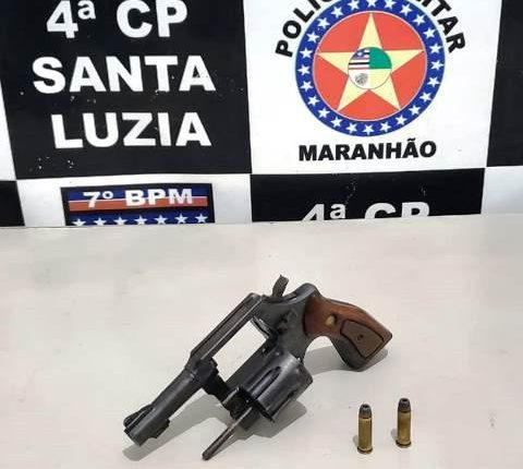 PMMA retira de circulação mais uma arma de fogo na área do 7º BPM
