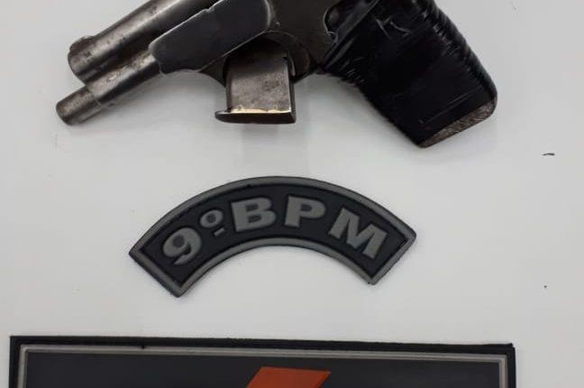 PMMA retira arma de fogo de circulação