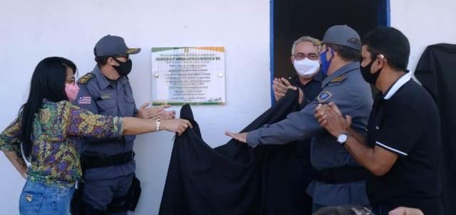 Polícia Militar inaugura nova sede na cidade de Itinga do Maranhão
