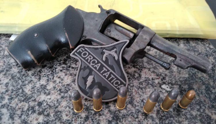 PMMA realiza a prisão de suspeito de homicídio com posse ilegal de arma de fogo em Pindaré Mirim – MA