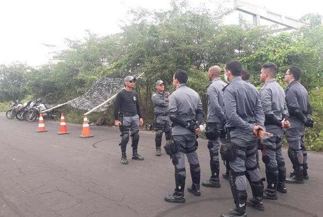 Policiais Militares 27º BPM participam de instrução para implantação de motopatrulhamento na cidade de Bacabeira