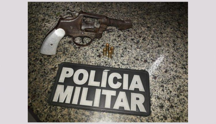 Armas de fogo são apreendidas por policiais do 27º BPM