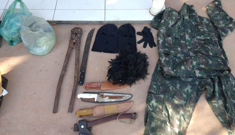 Policia Militar cumpre mandado de prisão e prende assaltante de banco em alto Parnaíba – MA.