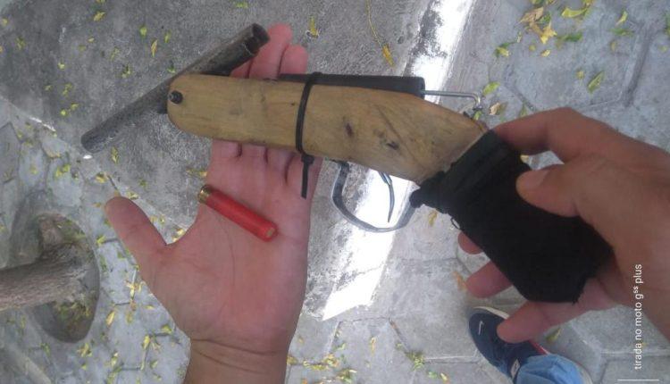 PMMA prende foragido da justiça e apreende arma de fogo em Codó – MA
